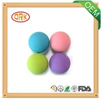 Different Size Colorful IIR Custom Rubber Ball