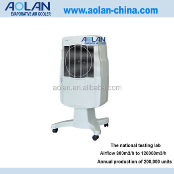 Solar Powered Car Air Cooler Portable Industrial Air