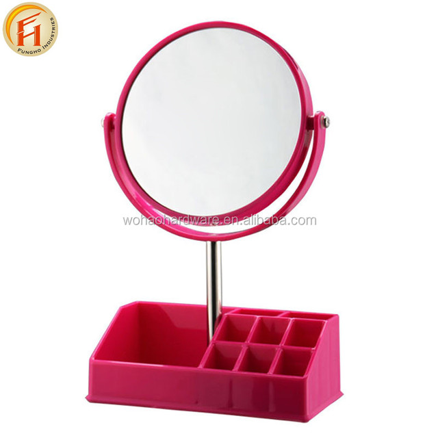 Magnifying Makeup Mirror 1X/3X Magnification, Free Standing Bathroom Mirror for Vanity, Desk or Tabletop