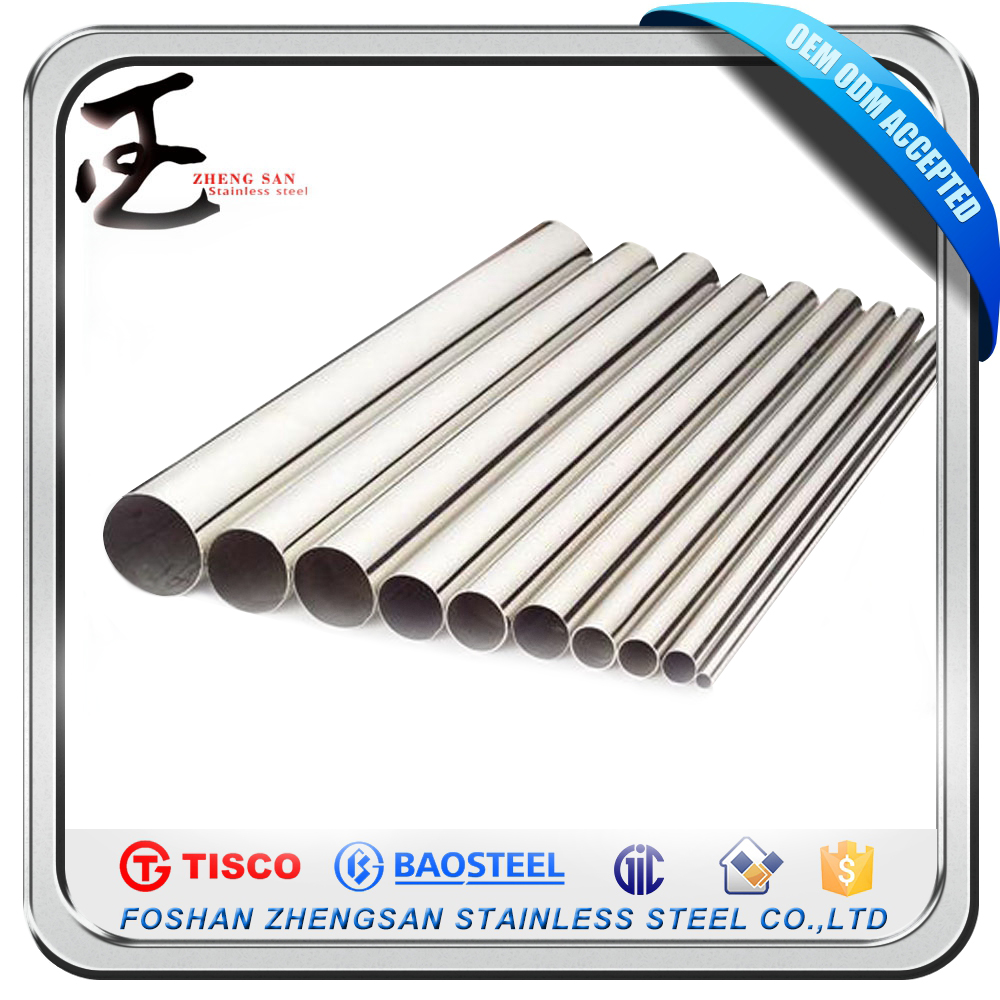 Building Materials Mill Test Certificate 40Mm Diameter Round Stainless Steel Tubes