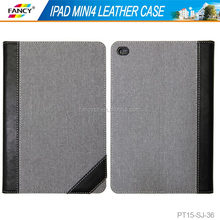 stand flip function PU leather tablet case cover for Ipad mini