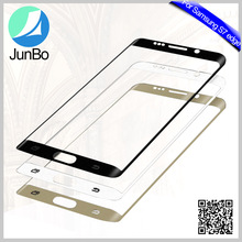 Junbo 2017 Hot Sales New Products ! New 2017 Universal Color Tempered Glass Screen Protector For Samsung Galaxy S7 Edge