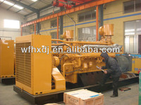 CE ISO 10KVA-1250KVA bio gas generator with CHP for using