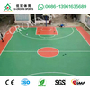 ITF Certified Silicon PU sports court, Outdoor Sport Flooring for basketball tennis
