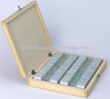100 pcs ON SALE student microscope prepared glass slides