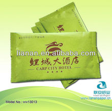 Customized Single Wet Wipes Hotel Disposable Cleaning Wipes