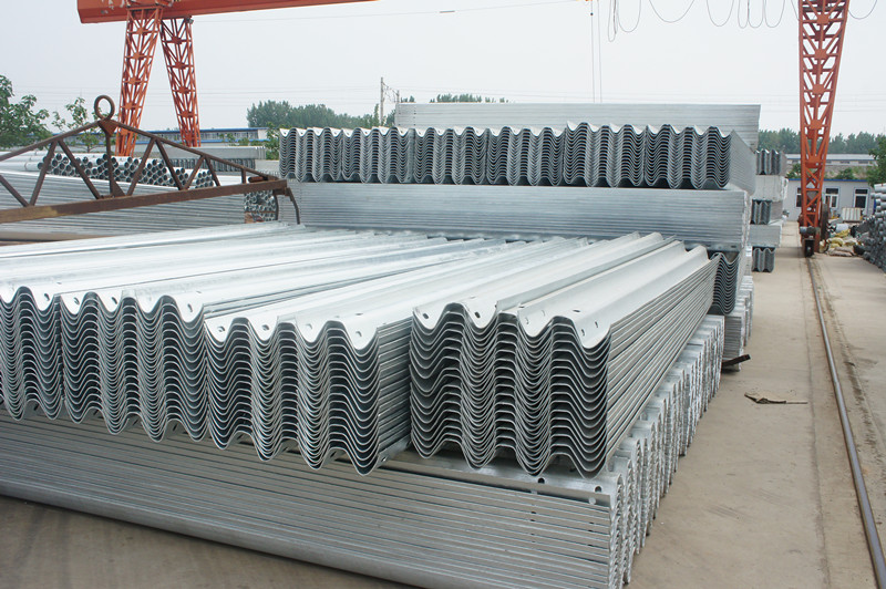 Top Accessed Guardrail Supplier / Wholesale cold rolled double wave w beam safety blocks