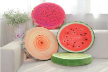 Manufactural Directly Unique Design Hot Sales SummerStyles 3D Soft Plush Chair Seat Cushion for a Car