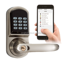 2017 New Products bluetooth smart Electronic digital keypad coded door lock for home