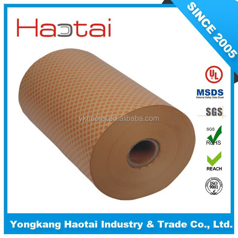 high quality- electrical resin coated Insulation Diamond pattern paper