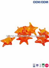 OEM/ODM Star Shape Gelatin Capsules filled with Mineral Oils, Glycerin & Vitamin E Bath Beads Bath Pearl
