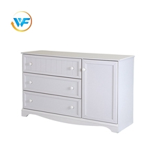 high-capacity unique design White Furniture Wooden Storage Cabinet