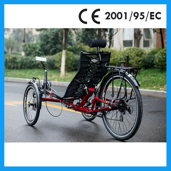tadpole recumbent trike sale from china