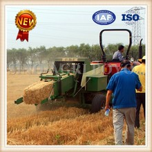 Large size square baler for hay