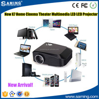 New 2016 X7 Mini LED TV Projector Hdmi Home Theater Beamer Multimedia Proyector Full Hd 1080p Video