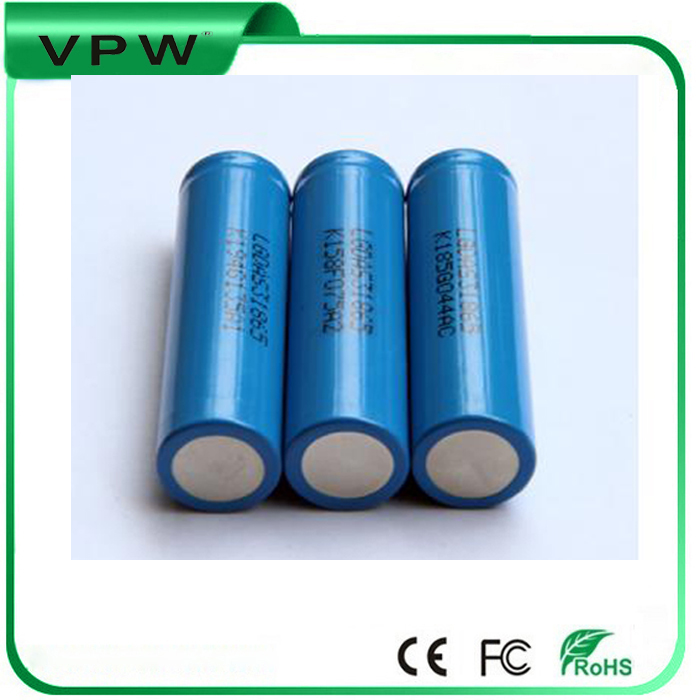 China 6500 battery 3000mah 3.7v 18650 li ion battery for RC Toys