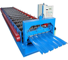 CE ISO Long Span aluminum wall roll forming machine with fome concrete roof tile making machine