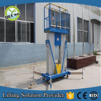 Mobile hydraulic aluminum alloy ladder lift tables for sale