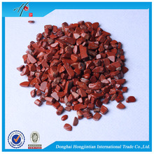 Red Jasper natural crushed stone
