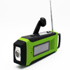 Alibaba Trade Assurance mulit-function hand crank weather radio with 1W LED torch
