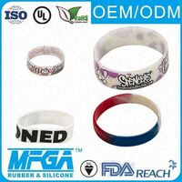 personalized rubber wrist bands