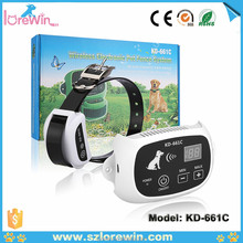 Wireless Upgraded KD-661 Signal stability cheap and hot selling rechargeable waterproof 6colors option dog fence kd-661c