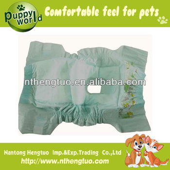 high quality disposable pet diaper