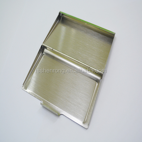 promotional metal busines card case gift set with keychain set