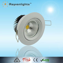 CE approved 5w 7w cob dimmable led spot light