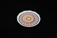 Beautiful ceramic plate floral ceramic dish plate wholesale
