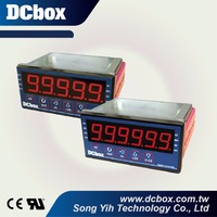 Digital Panel Counter Meter With Alarms