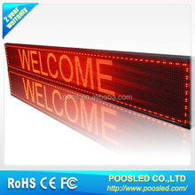semi-outdoor scrolling message led display