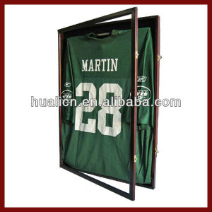 Sport Wooden Football Jersey Display Case