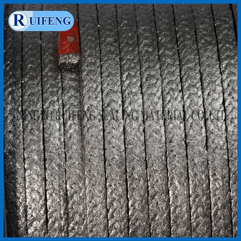 PTFE Graphite Packing made of PTFE yarn