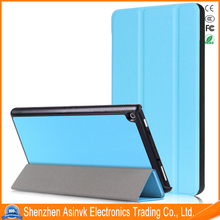 Ultra Slim Translucent Frosted Back Magnetic Light Weight Cover with Auto Sleep/Wake Function For All-New Amazon Fire 7 Tablet