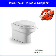 Western Style Toilet Closet Concealed Cistern Portable Bathroom WC Toilet B-2391B