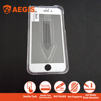 New fashion For iphone applicator cover tempered screen film support ip 5/6/6s/7/plus mobile installation tool