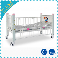 Single Crank Manual Hospital Children Bed Pediatric Hospital Bed