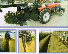 trencher for tractor