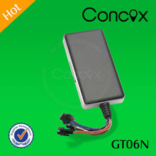 Check the location via SMS Concox GT06N micro transmitter tracker like the security steward for your car