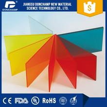 Decorate plexiglass wall panel high gloss acrylic panel transparent colored plastic sheet thin with CE certificate