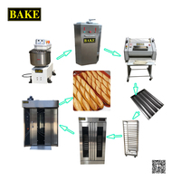 Automatic French Bread Production Line Bakery Equipment
