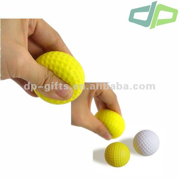 Soft toy Golf Ball, PU Foam Sport Golf Ball