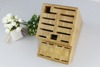 Hot sale Bamboo Kitchen Knife Block with best quality and low price