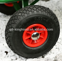 Small Inflatable Air filled wheel Pneumatic tire 3.00-4