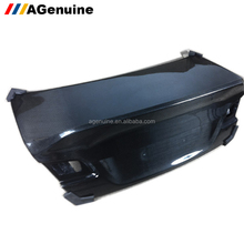 V style 3K carbon fiber back boot bonnet rear luggage hood rear trunk for BMW 3 series E92 E93