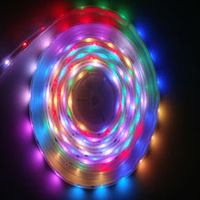 led strips 5050 SMD RGB waterproof for holiday with CE RoHS FCC certificates
