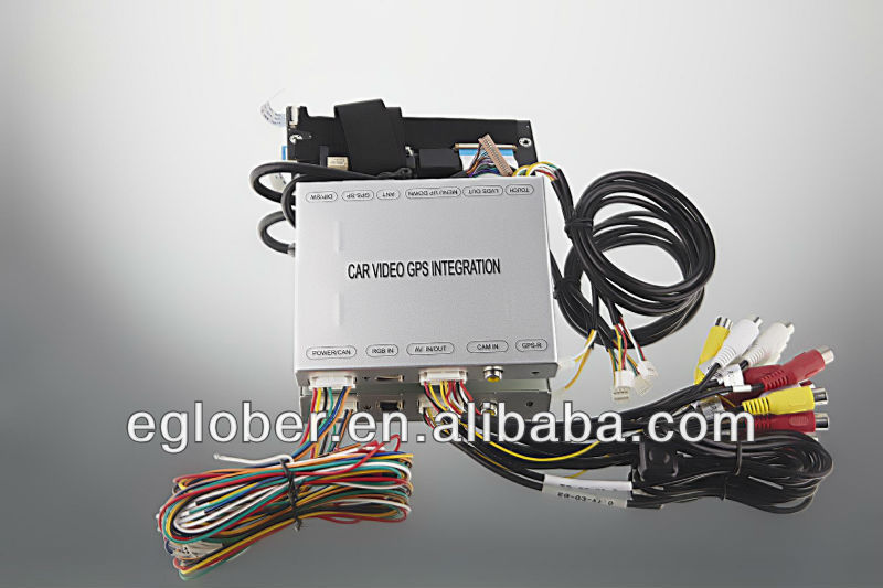 TOYOTA CAMRY HILUX car gps navigation video interface with non JBL navigation Video Interface
