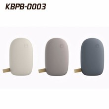 2017 stone shape Stone pebbles mobile power bank for all smart phones