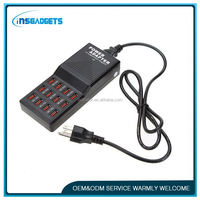 Usb charging station ,H0T076 12 usb charger 120w , usb battery charger